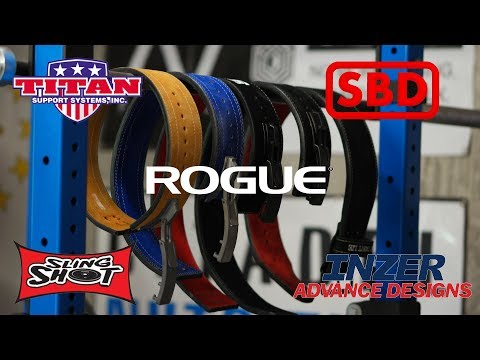 Powerlifting Belt Review - SBD, Inzer, Sling Shot, Titan, Rogue and More! - UCNfwT9xv00lNZ7P6J6YhjrQ