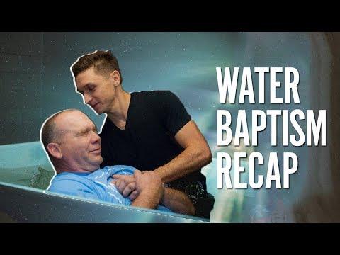 December Water Baptism Recap
