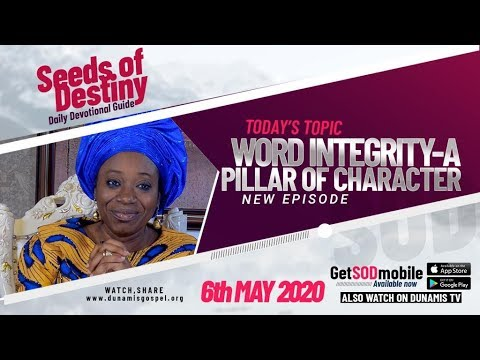 Dr Becky Paul-Enenche - SEEDS OF DESTINY  WEDNESDAY, 06 MAY, 2020