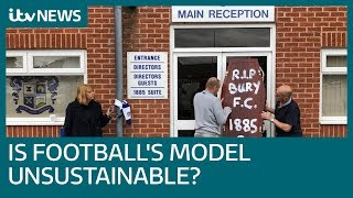 Is the English Football League's model unsustainable? | ITV News
