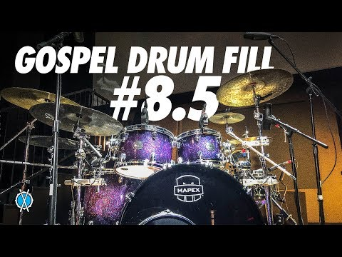 Gospel Drum Fill #8.5 // Daniel Bernard