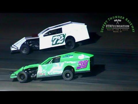 Desert Thunder Raceway IMCA Modified Main Event 8/27/21 - dirt track racing video image