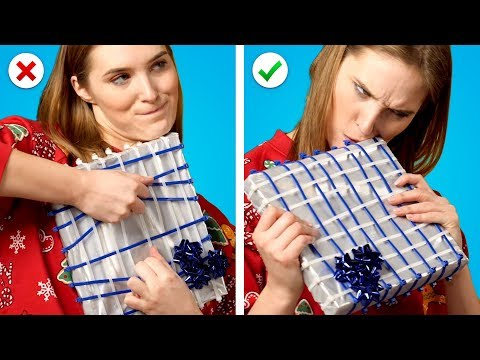 8 Christmas Pranks! Mean Gift Wrapping Ideas and Funny Pranks - UC03RvJoIhm_fMwlUpm9ZvFw