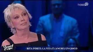 Rita Forte, la mia vita dentro un gioco