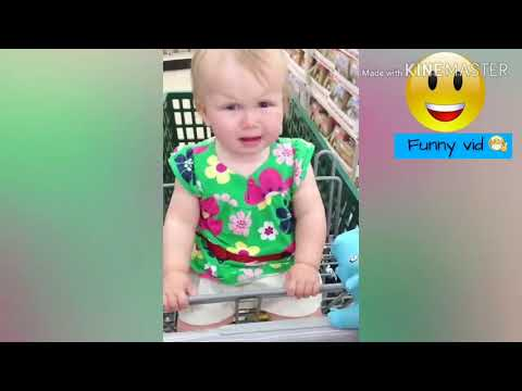 Baby and Animals Toy - Funny Baby Video #1