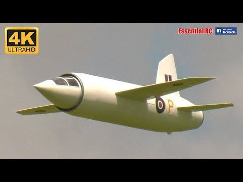 Supersonic 1940s MILES M.52 RC Electric Ducted Fan JET [*UltraHD and 4K*] - UChL7uuTTz_qcgDmeVg-dxiQ