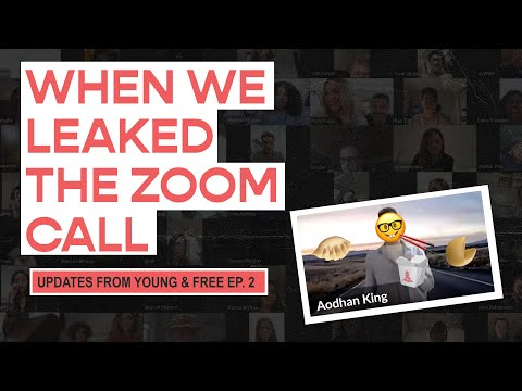 Young & Free Zoom Updates - Episode 02 (When we leaked our Zoom link)