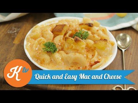 Resep Quick and Easy Mac and Cheese | YUDA BUSTARA - UC-Mo44Nwj-q6Og_bQqMuwfQ