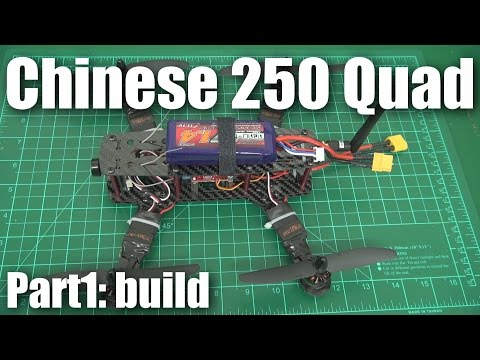 Review: Cheap carbon Chinese 250-size mini quadcopter (part 1) - UCahqHsTaADV8MMmj2D5i1Vw
