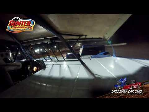 #P14 Matt Pridgen - Steel Block - 9-18-21 Sumter Speedway - In-Car Camera - dirt track racing video image