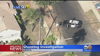 Police Swarm Arleta Neighborhood In Shooting Investigation