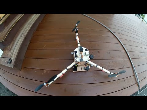 Tricopter Saved by RTL Failsafe - UCzy9sG39l9EUMfarVWIe2Gg