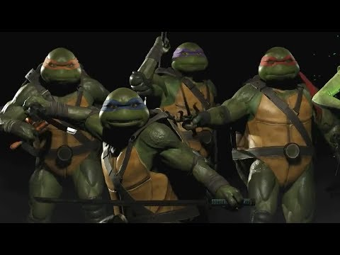 Injustice 2 Teenage Mutant Ninja Turtles Reveal Trailer - UCKy1dAqELo0zrOtPkf0eTMw