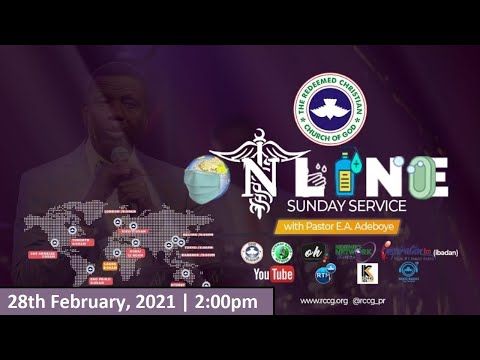 RCCG FEBRUARY 28th 2021  PASTOR E.A ADEBOYE SPECIAL SERVICE