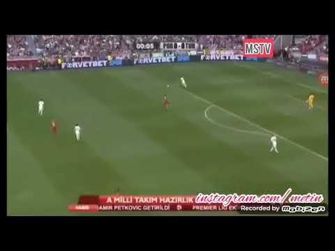 Erzurumlu Spikerden Portekiz Türkiye Maçı