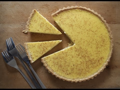 Egg Custard Tart - The Boy Who Bakes - UCtAcd20rzoP3ljdbzZdqBHg