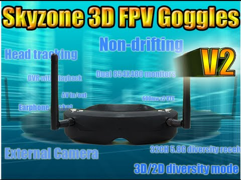 Skyzone 3D FPV Goggles V2 - UCzVmIzWnHkWFSnYQeYnf0OA
