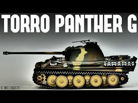 TORRO PANTHER G Late Version 1/16 RC Tank - Full Review - UC1JRbSw-V1TgKF6JPovFfpA