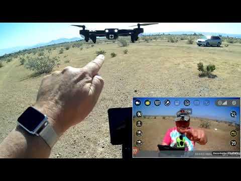 GoolRC CSJ WiFi S166 Folding GPS 1080p Camera Drone Flight Test Review - UC90A4JdsSoFm1Okfu0DHTuQ