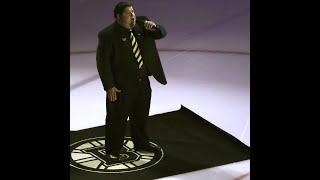 Meet the bartender singing the National Anthem at Bruins games