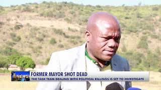 former mayor of the Ndwedwe local municipality Maxwell Hadebe shot dead