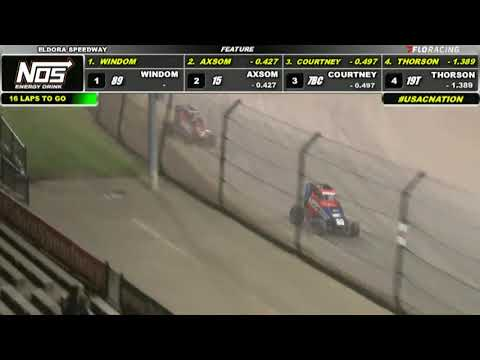 09.24.21 BeFour The Crowns  |  USAC Midgets - dirt track racing video image