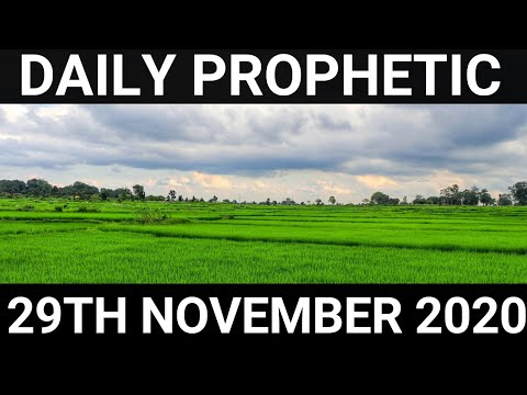 Daily Prophetic 29 November 2020 11 of 12
