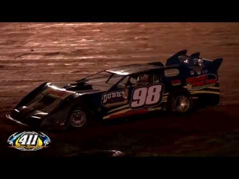 Old Smoky Moonshine 50 @ 411 Motor Speedway   Aug. 24, 2013 - dirt track racing video image