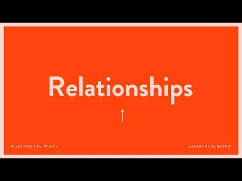 Aaron McManus  Relationships - Mosaic