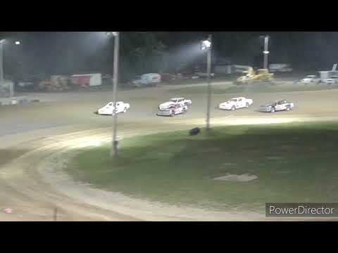 Street Stock A-Main - Crystal Motor Speedway - 8-7-2021 - dirt track racing video image