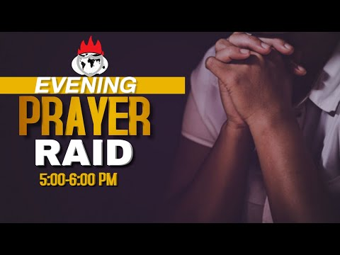 EVENING PRAYER RAID  26,NOV 2020  FAITH TABERNACLE OTA!