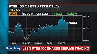 Glitch Delays Opening of LSE's FTSE 100 and 250