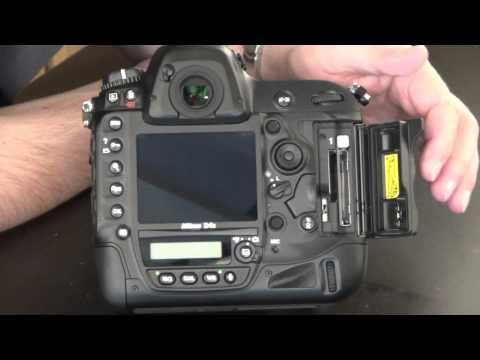 Videorecenze Nikon D4S tělo