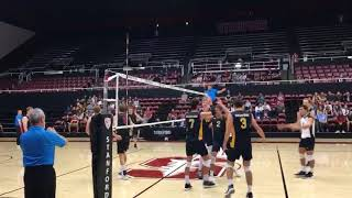 Men's Volleyball UC Irvine vs Stanford