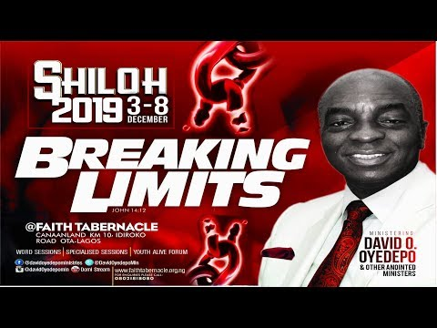 DOMI STREAM: SHILOH 2019 Day 2 Youth Alive Forum  4TH, DECEMBER,  2019