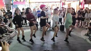 레드크루(RED CREW)/ 기대해(Expect Me)-Girl's Day,피리(PIRI)-DREAMCATCHER,Lip&Hip-HyunA 20190823 홍대버스킹