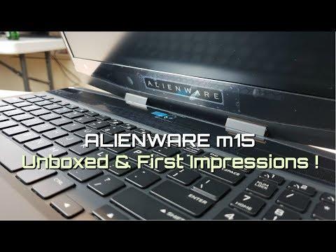 Alienware m15 with Liquid Metal - 1st Impressions ! - UCkTweJExGMqp3NLvzvOn-yg