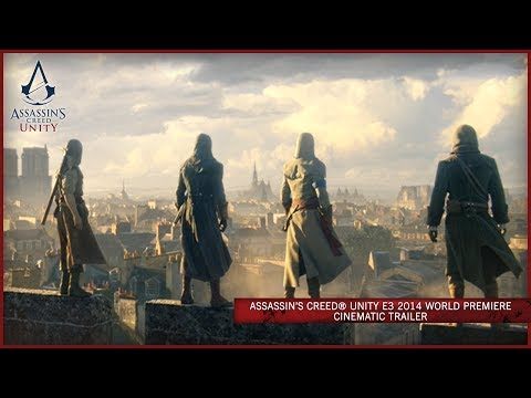 Assassin's Creed Unity E3 2014 World Premiere Cinematic Trailer [EUROPE] - UC0KU8F9jJqSLS11LRXvFWmg
