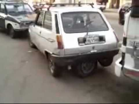 Car With Five Wheels: Parallel Parking