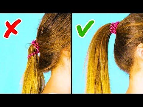 10 Easy 1 Minute Frisuren Alltag Schule Uni
