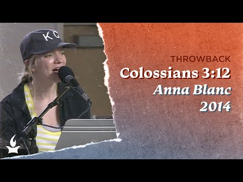 Colossians 3:12 (Spontaneous) -- The Prayer Room Live Throwback Moment