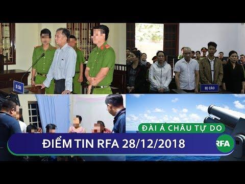 Điểm tin RFA tối 28/12/2018   Đài Loan ngừng cấp thị thực theo nhóm cho các công ty du lịch Việt Nam