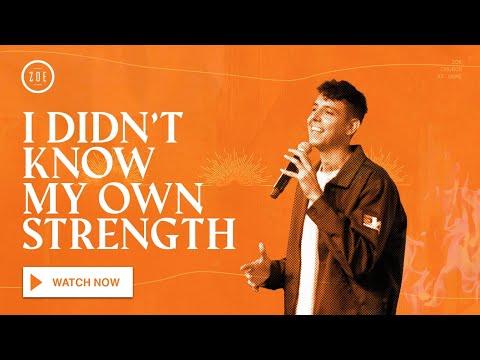 I Didn't Know My Own Strength  Zoe Church LA  Ryan Cross  6.21.2020