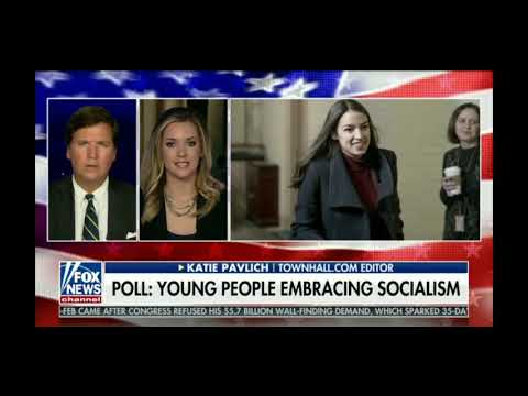 Half of 18-24 yr olds value Socialism over Capitalism - Tucker Carlson 3/12/19