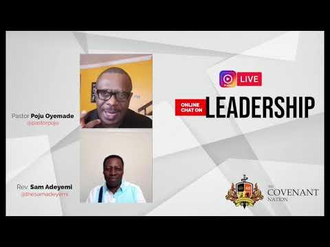 Leadership Life Chat with Pastor Poju Oyemade and Rev. Sam Adeyemi