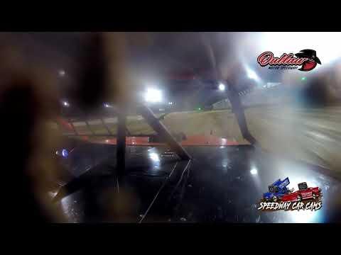 #7h Brett Hansen - Usra Modified - 6-4-2021 Outlaw Motor Speedway - In Car Camera - dirt track racing video image