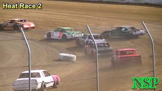 August 10, 2019 Street Stocks Heat Races 1, 2, 3 & 4 Grays Harbor Raceway