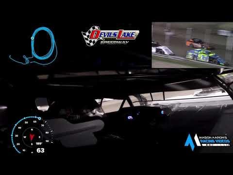 #B0 Jory Berg WISSOTA Midwest Modified On-Board @ Devils Lake (5/8/21) - dirt track racing video image