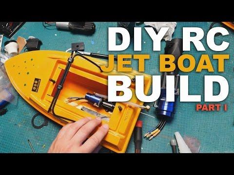 BRUSHLESS POWERHOUSE - DIY JET BOAT BUILD PART 1 - UCrI2fMeyHAxWUK6htz4VhdQ