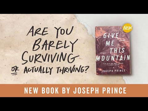 New Book By Joseph Prince: Give Me This Mountain  Official Trailer #2